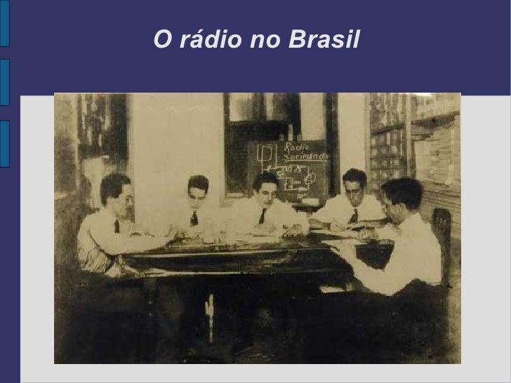 Rádio - midia sonora