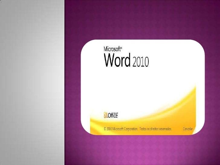 OWord faz parte da suíte deaplicativos Office, e é consideradoum dos principais produtos daMicrosoft sendo a suíte que do...