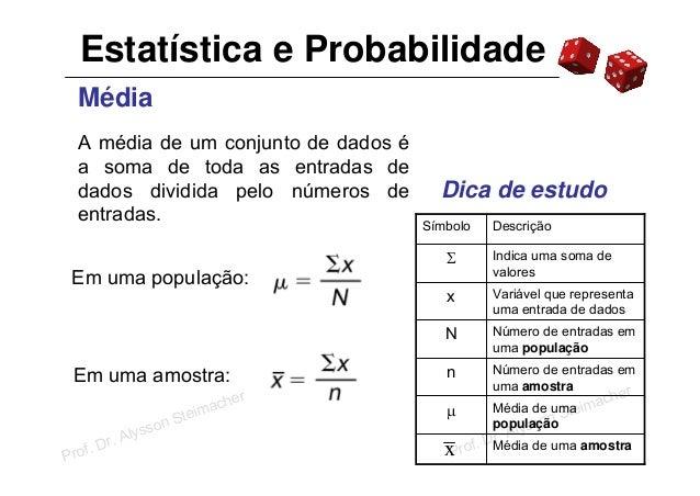 A estatística descritiva como ferramenta na gestão de custo 10