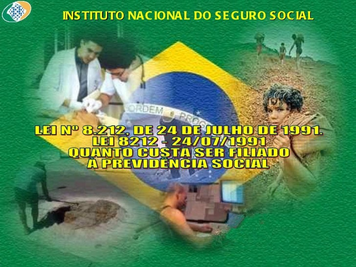 Contribuições - INSS - Professor Leandro