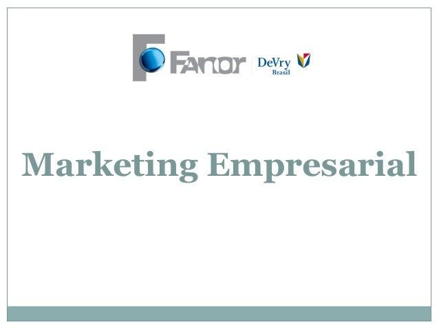Aula 3   marketing empresarial