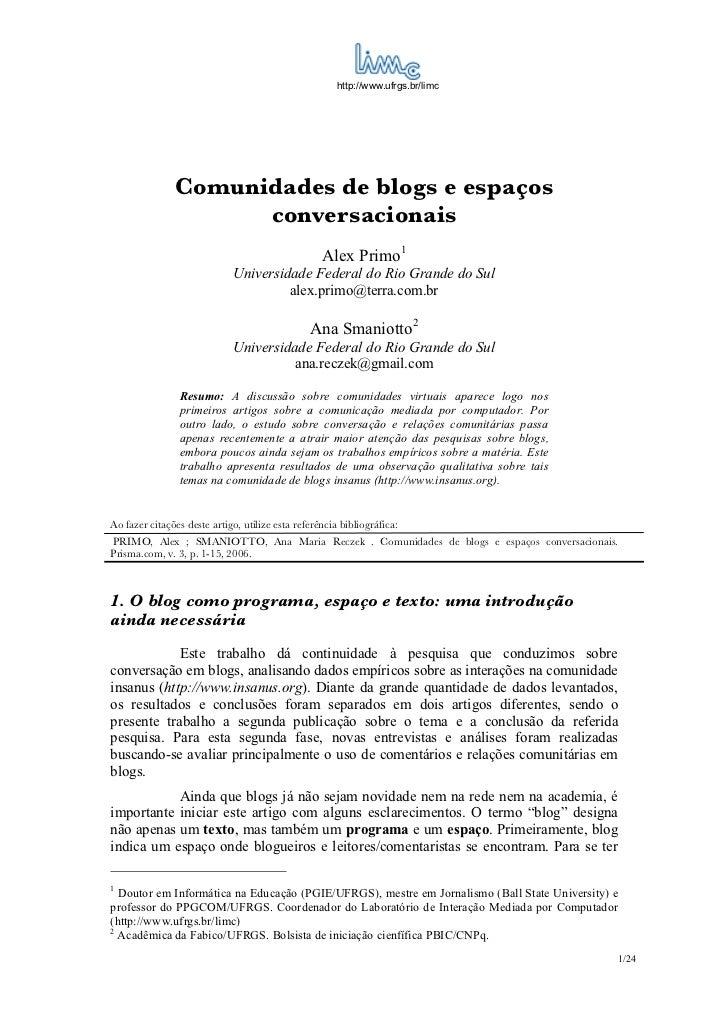 Aula3 comunidades de_blogs_espacos