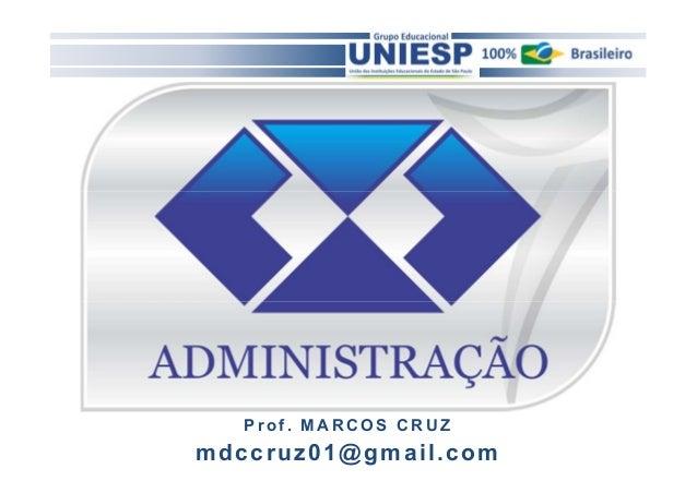 Prof . MARCOS CRUZ  mdccruz01@gmai l .com