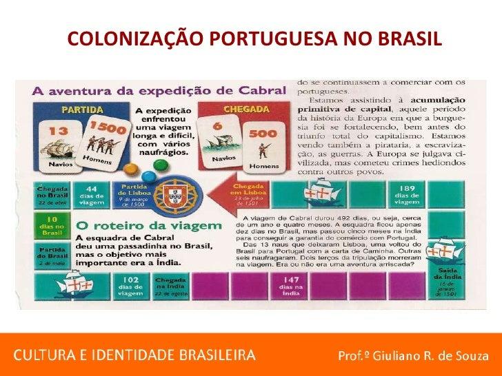 COLONIZAÇÃO PORTUGUESA NO BRASIL<br />