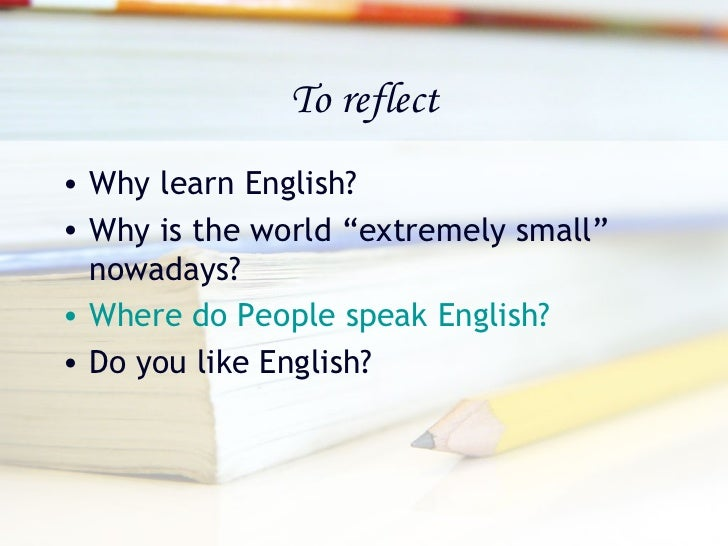 essay on importance of english language in our life