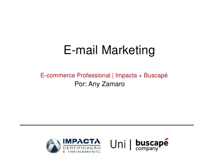 Cenário do Email Marketing - Boas Práticas