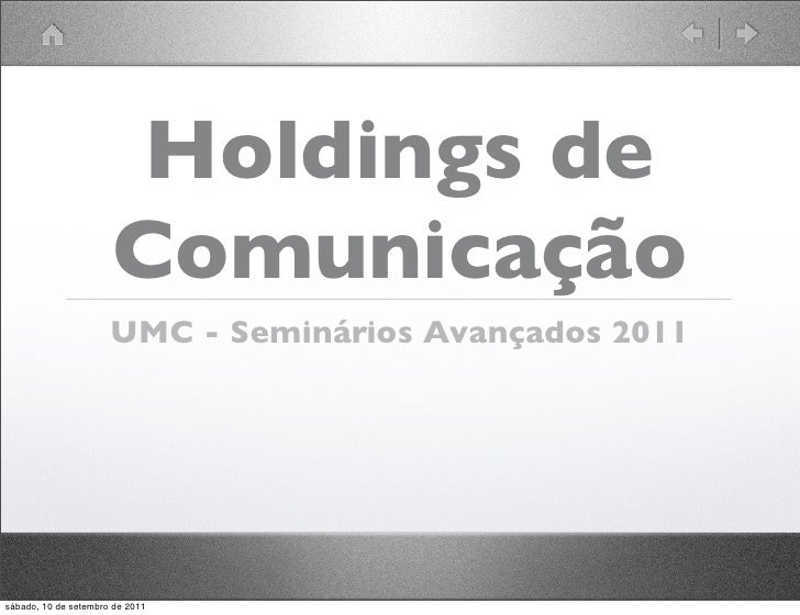 Aula Holdings- Seminarios