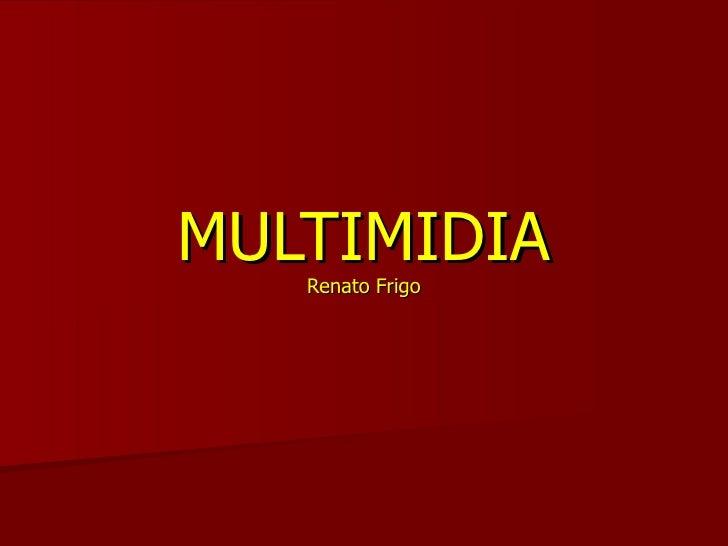 Aula Inicial - disciplina Multimidia