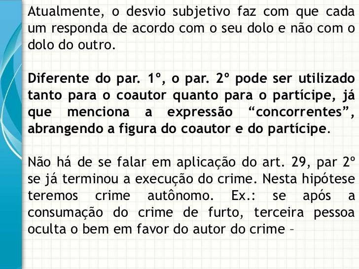 Artigo 29 do cp