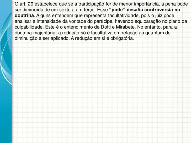 Artigo 29 cp