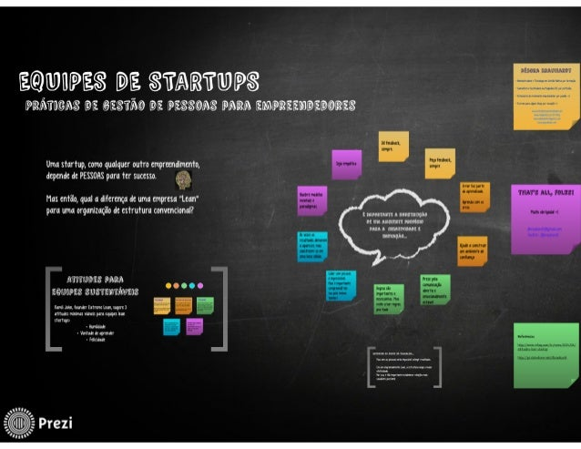 Equipes de Startups - práticas para empreendedores