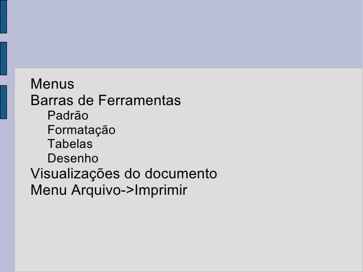<ul><li>Menus