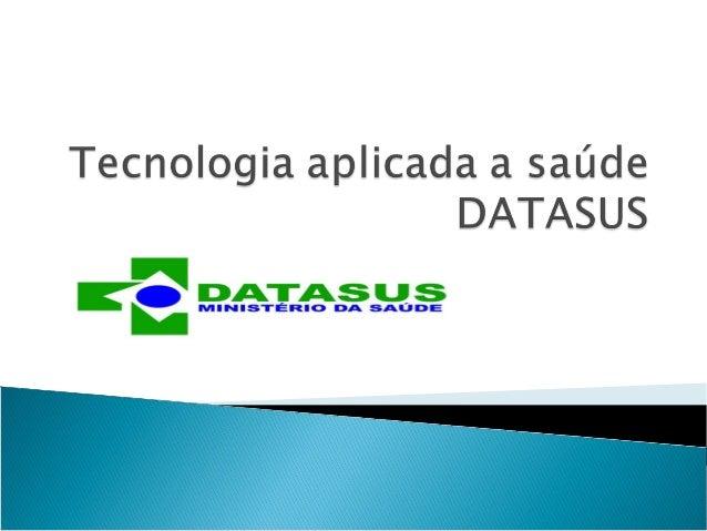 Aula tecnologia aplicada a saúde