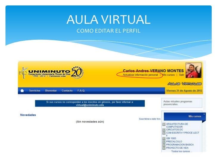 Aula virtual y correo estudiantil