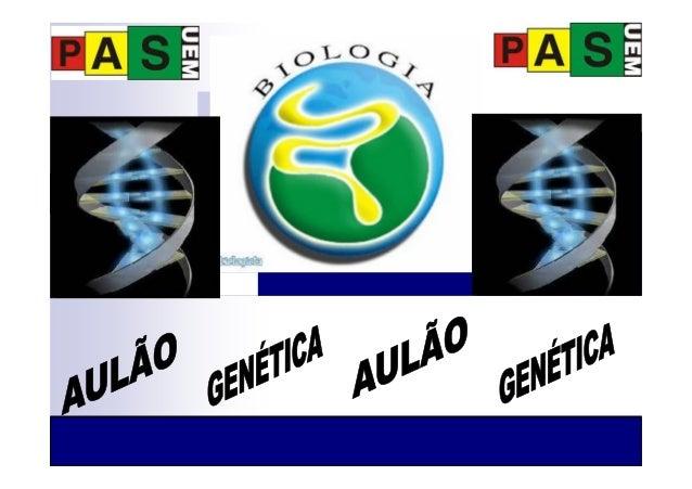 Aulão genética 3 em