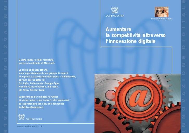 Aumentare la competitività attraverso l'innovazione digitale