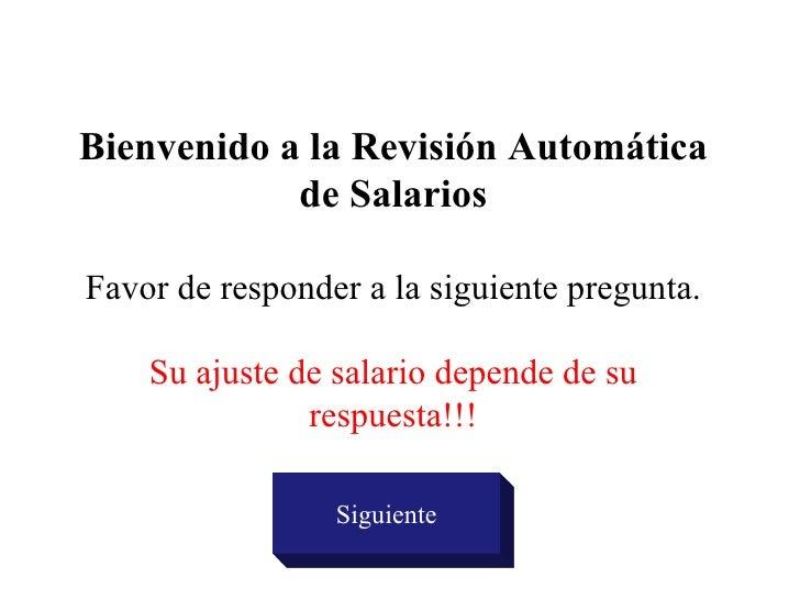 Aumentosde Salario2004