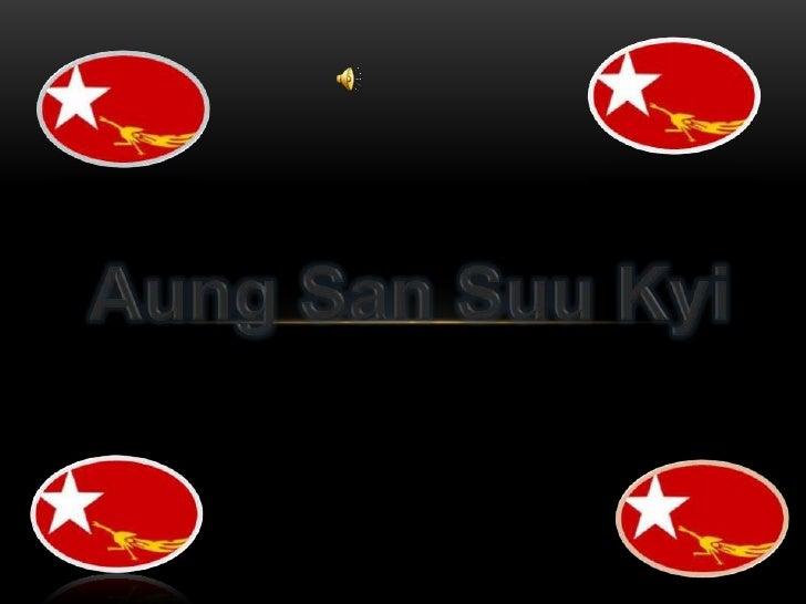 Aung San SuuKyi<br />