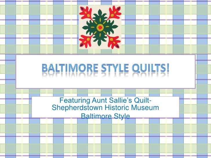 Aunt Sallie's Quilt