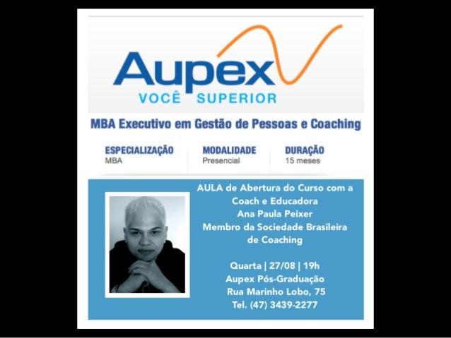 MBA EM GESTÃO DE  PESSOAS E COACHING  EXCELÊNCIA EM  GESTÃO DE  PESSOAS