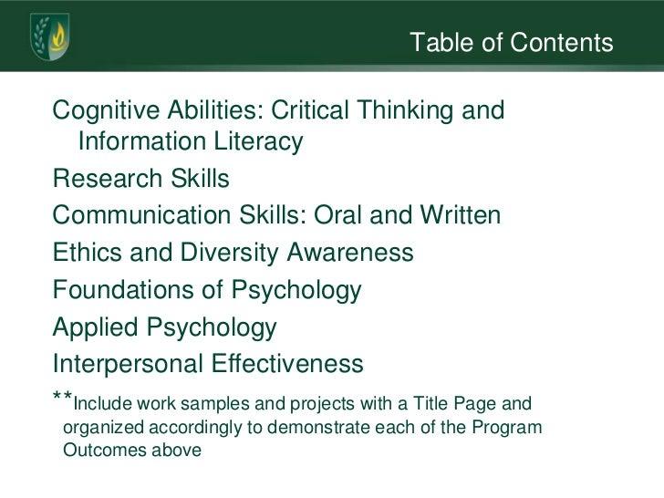 Critical Thinking Blog
