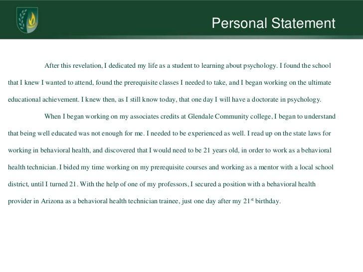 human biology personal statement