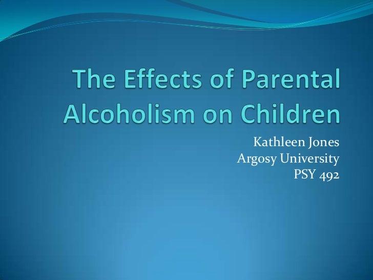 Kathleen JonesArgosy University        PSY 492