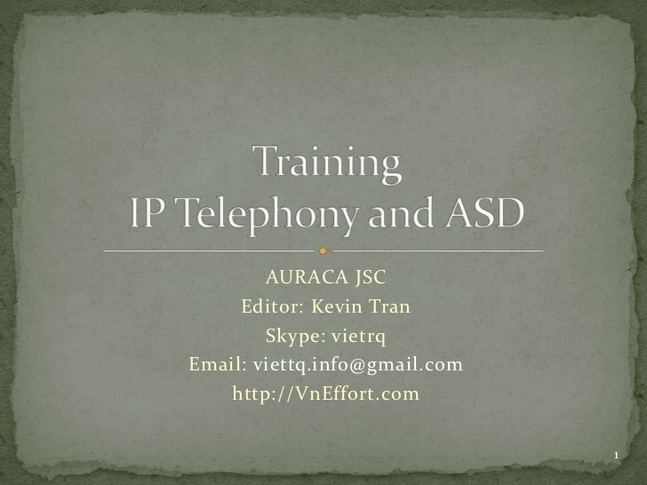 Auraca training   ipt and asd