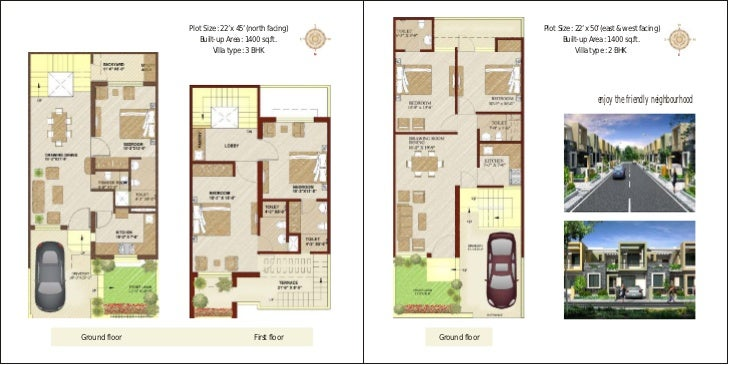 2 Bhk House Plan North Facing Design And