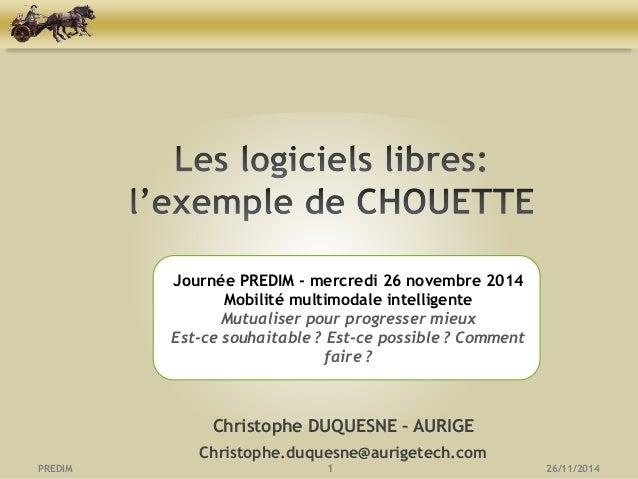 CHOUETTE-Application open source de gestion des données transport