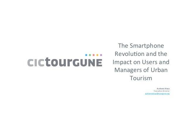 Aurkene Alzua Sorzabal - The Smartphone Revolution