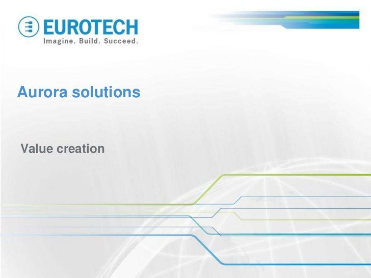 Aurora solutionsValue creation