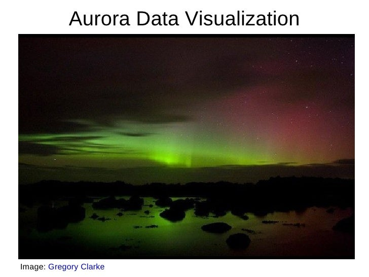 Aurora Data VisualizationImage: Gregory Clarke