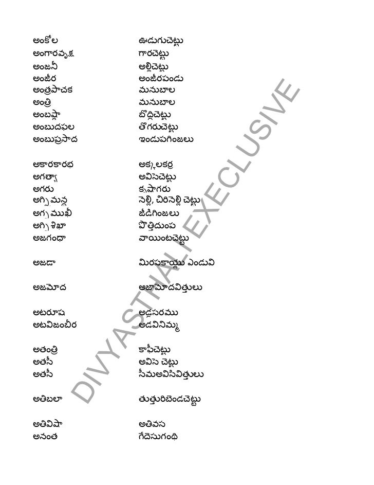 Aurvedic wrods meaning and their root words