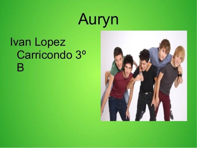 Auryn Ivan Lopez Carricondo 3º B