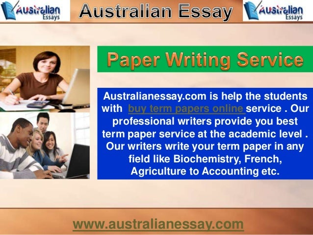buy sell term papers Three options to buy research papers if you can't find a pre-written essay or term paper on your topic or best research paper writers here at get-essaycom.