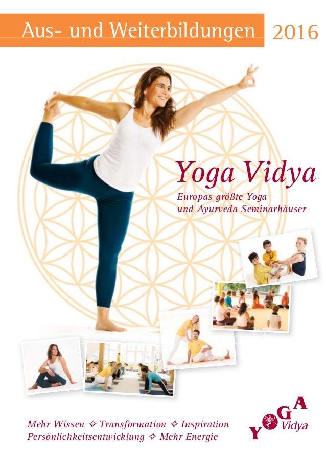 Europas größte Yoga und Ayurveda Seminarhäuser Mehr Wissen ✧ Transformation ✧ Inspiration Persönlichkeitsentwicklung ✧ Meh...