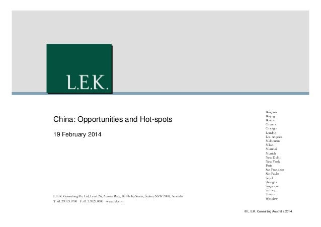 China: Opportunities and Hot-Spots in the MedTech (Medical Device), Pharmaceutical and Healthcare Markets