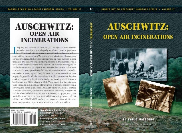 Auschwitz open-air-incinerations-by-carlo-mattogno