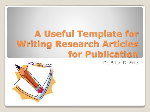 article paper research writing We will help you to write an excelent article research paper.