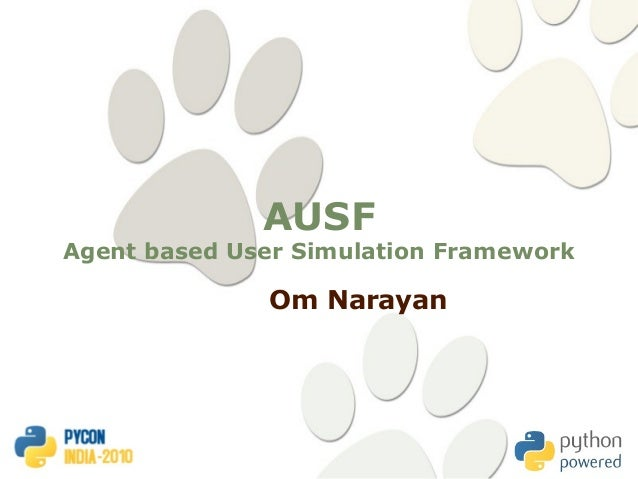AULT : Agent based User simulation