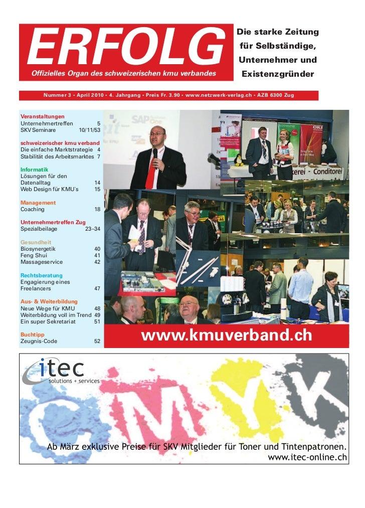 Erfolg Ausgabe 03/2010 vom 5.03.2010