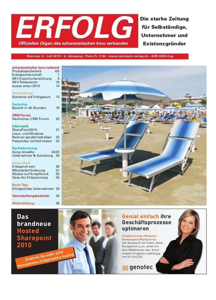 Ausgabe 06/2010 vom 18.07.2010