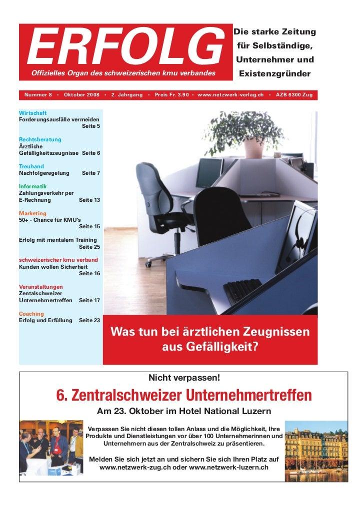 ERFOLG                                                                                    Die starke Zeitung              ...