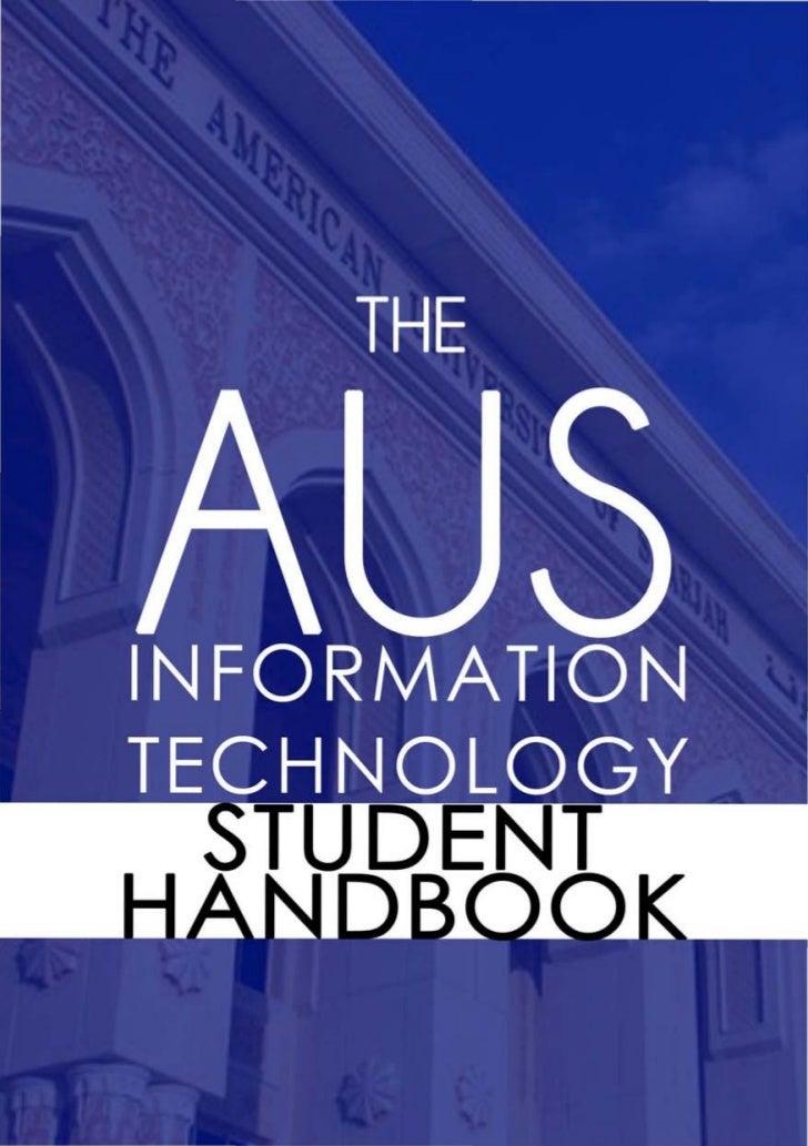 AUS IT Handbook - Fall 2012
