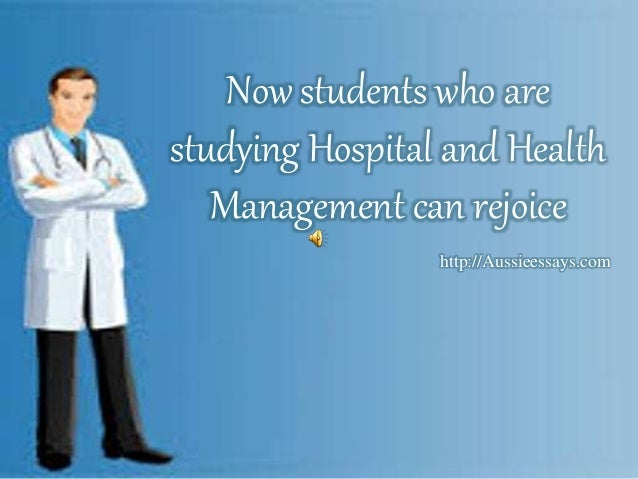 Healthcare Administration essays composed