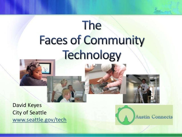 David Keyes City of Seattle www.seattle.gov/tech