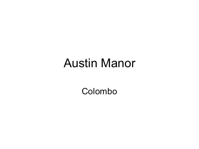 Austin Manor Colombo