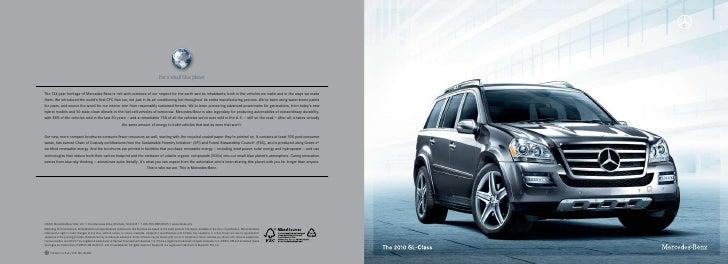 Austin Mercedes-Benz GL-Class Brochure 2010