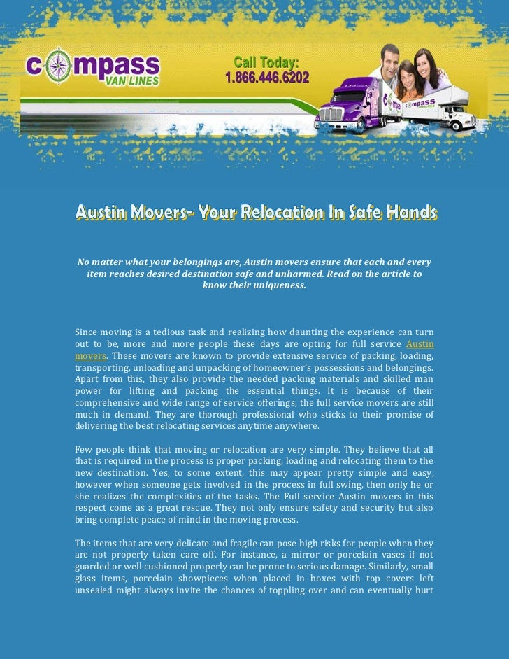 -1162050-952500<br />-11620506350<br />No matter what your belongings are, Austin movers ensure that each and every item r...